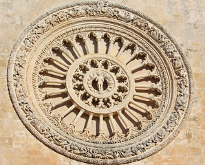 rosone della Concattedrale di Ostuni, Puglia