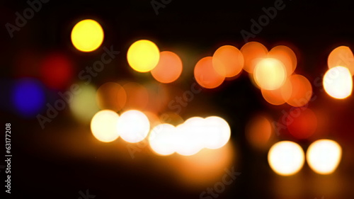 Holiday glow- colorful bright lights. Abstract background