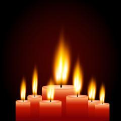 Candles Illustration