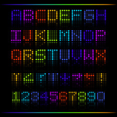 Rainbow Digital Text