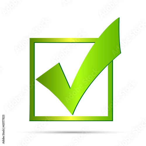 Green Check Mark Illustration