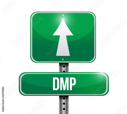 dmp sign post illustration