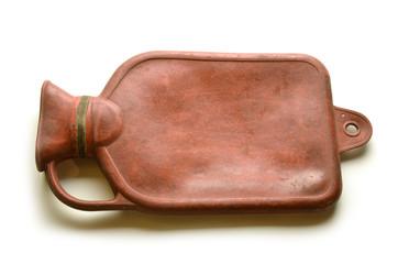 Vecchia Borsa dell' acqua calda Bouillotte Hot water bottle
