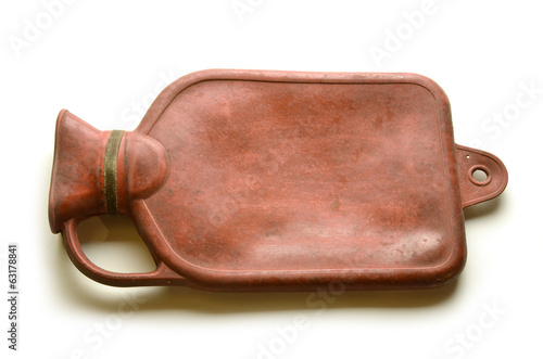 Vecchia Borsa dell' acqua calda Bouillotte Hot water bottle