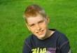 portrait jeune adolescent blond 12 ans