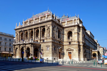 The State Opera in Budapest, Hungary