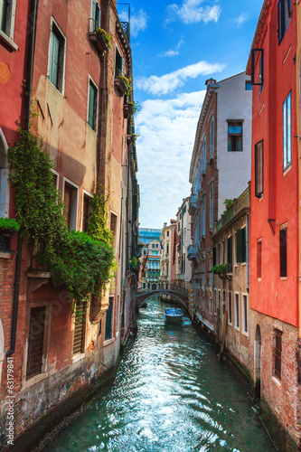 Aluminium Kanaal The old streets of Venice