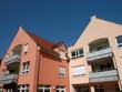 Moderne Wohnhäuser mit Balkons in Oerlinghausen bei Bielefeld