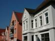 Wohnhäuser in der Altstadt von Oerlinghausen bei Bielefeld