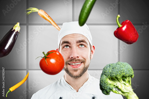 canvas print picture Cook