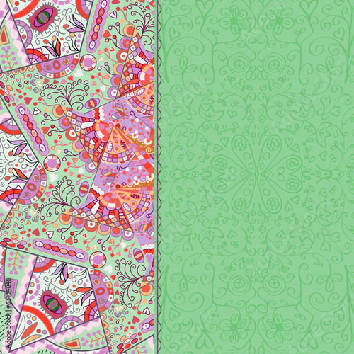 Abstract Pastel Color Card