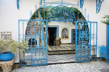 Sidi Bou Said courtyard