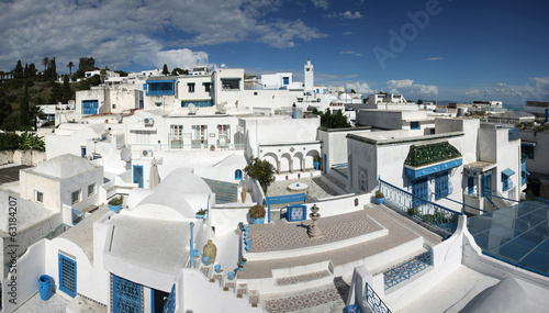 Sidi Bou Said panorama
