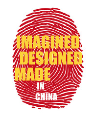 Imagined designed made in China