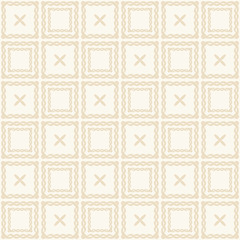 Geometric Pastel Seamless Pattern