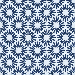 Geometric One Tone Seamless Pattern