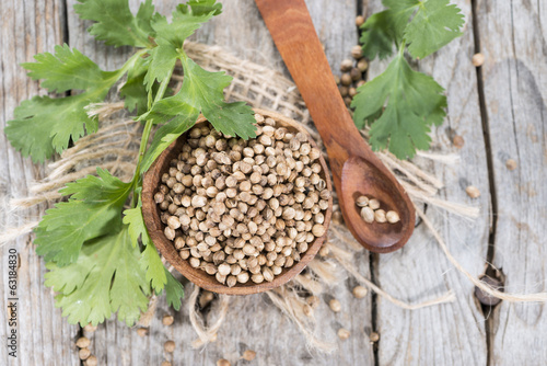 Heap of Coriander (seeds)