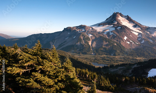 Mt. Jefferson Park Oregon Cascade Range Mountian Hiking Trail