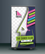 Dance Academy Traning DVD Case and Disc Vector Design