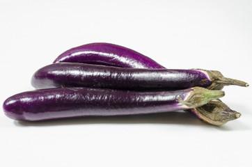 Three Asian Eggplants
