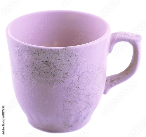 Cup isolated on white