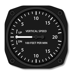 vector aviation variometer vertical speed indicator