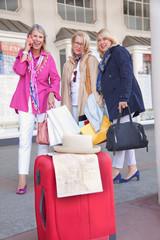 Frauen  verreisen gemeinsam