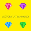 Flat diamonds