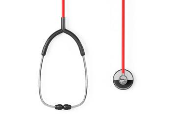 Medicine Concept. Closeup stethoscope