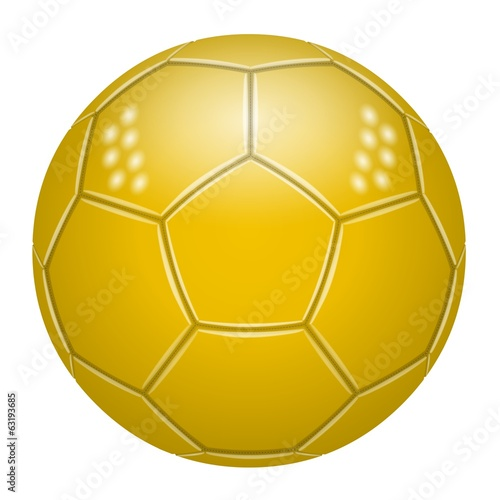 Ballon de football Jaune