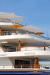 Luxury motor yacht decks
