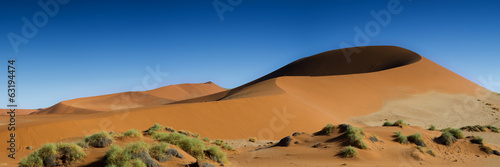 Panorama of the Sossusvlei Dune Field