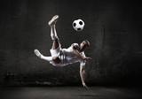 Fototapety Football player