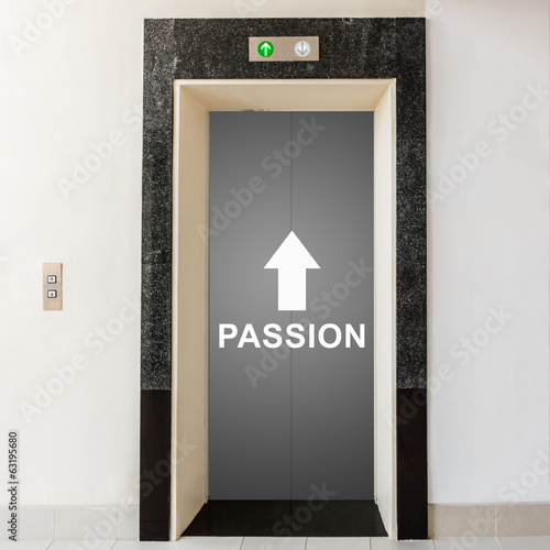 elevator with way to passion