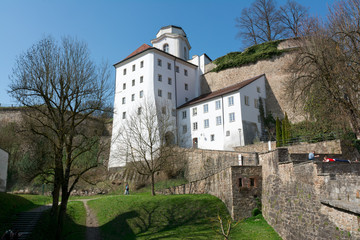 Veste Oberhaus, castle in Passau, Germany