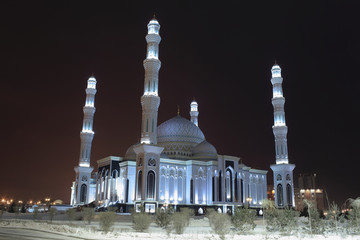 Mosque in Astana. The capital of Kazakhstan
