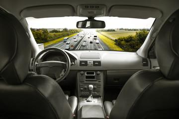 viaggiare in autostrada