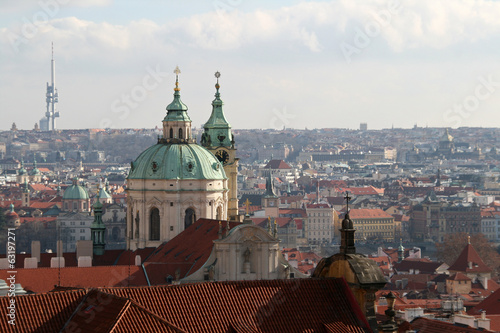 City view of Prague