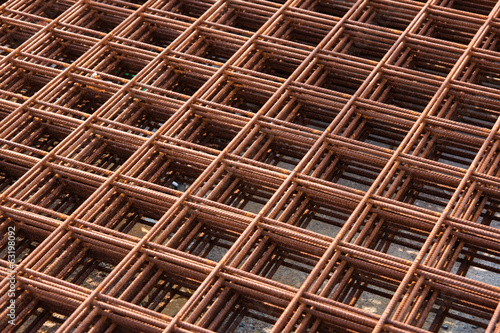 This is steel nett reinforcement for construction