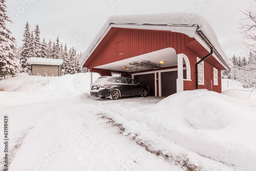 winter garage