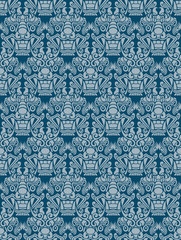 Korea Goblin pattern Design. Korean traditional Pattern is a Pat