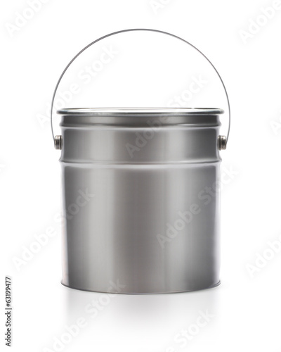 Metal painting Pail
