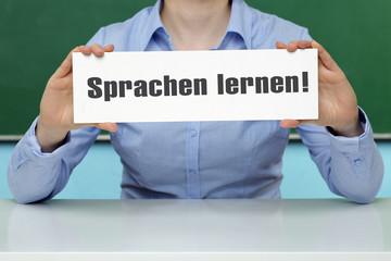 Sprachen lernen!