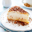 delicious piece of cheese cake