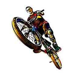 The Jumping Biker