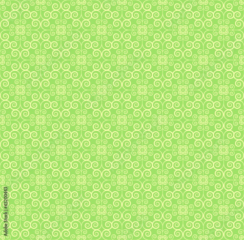 Yellowish green Round grid Pattern