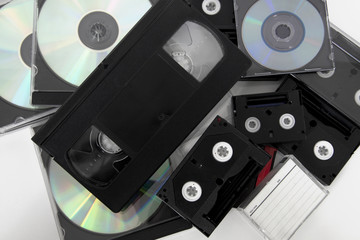 media storage video cassette tapes tape cd convert copy
