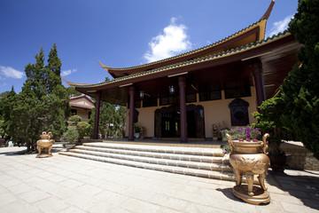 Buddhist monastery in Dalat Vietnam