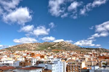 Puertollano, Castilla-La Mancha, barriada y cerro de Santa Ana