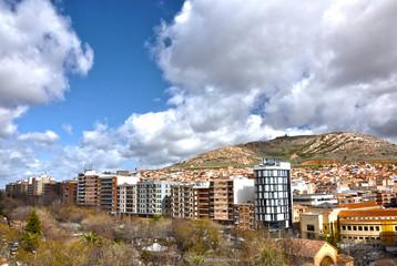 Puertollano, Paseo de San Gregorio y cerro de Santa Ana
